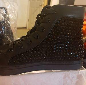 Steven Madden Studded Sneaker Boot